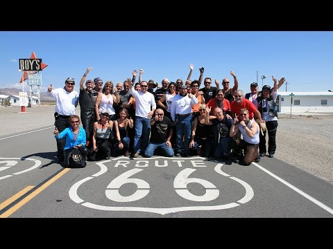 Route 66 - the Reuthers Harley-Davidson Motorcycle Tour