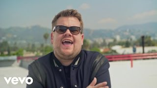 CAN'T STOP THE FEELING! First Listen (James Corden for DreamWorks Animation's Trolls)