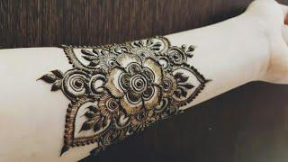 Beautiful Henna Tattoo For Hand 2018 Heenavahid