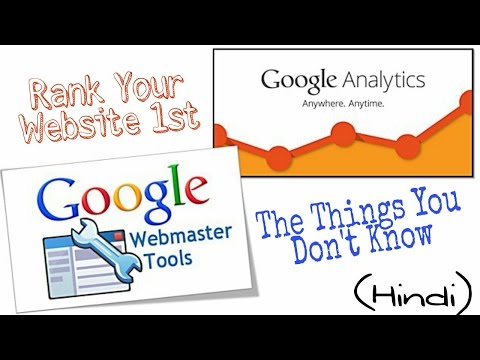 How To Use Google Webmaster Tools & Google Analytics || Full SEO techniques in Hindi