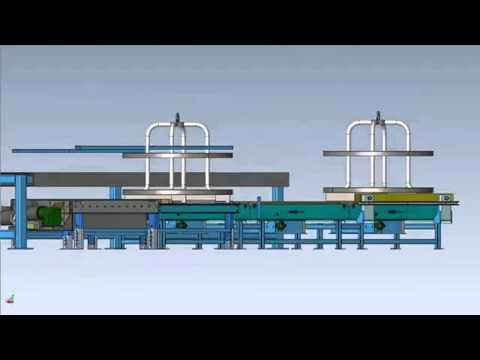 Rack Handling Conveyor