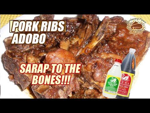 Pork Ribs Adobo