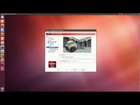 Installing AMD Catalyst on Ubuntu 12.04 (GUI Mode)