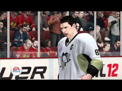 NHL 12 Stanley Cup simulation Penguins win - HD game trailer - PS3 X360