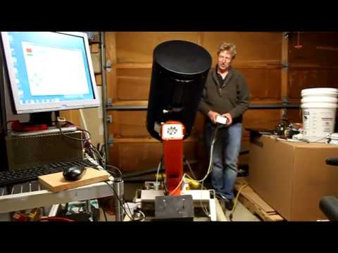 Homemade Telescope Mount Slewing and Imaging