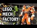 LEGO City Mech Division Headquarters | Bricks Cascade 2018