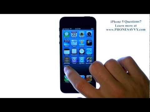 Apple iPhone 5 iOS6 - How do I add a Signature to my Emails