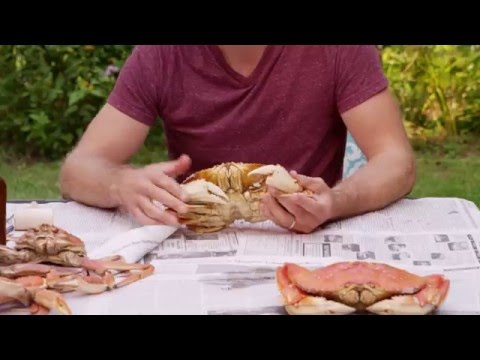 How to Eat a Crab