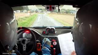 Rallye de la Porte Normande 2018 es4 - caméra embarquée Jeff Piau/ Eric Laforge