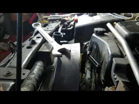 GMC 03 ENVOY Water pump Change
