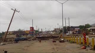 Devastation Tropical Storm Lidia hits Cabo Baja Mexico