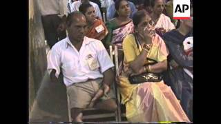 INDIA: BOMBAY: MARRIAGE BUREAU FOR HANDICAPPED PEOPLE