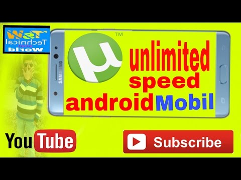 Increase  Utorrent speed 2017 Android mobile