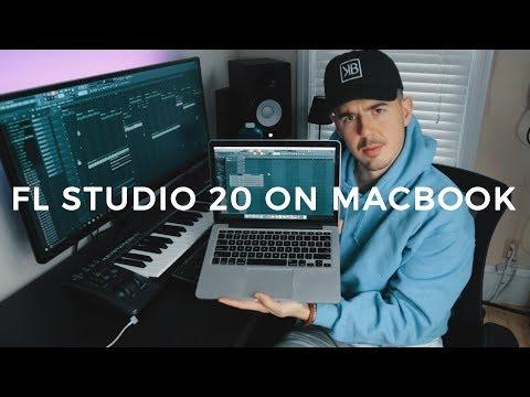 FL STUDIO 20 ON MACBOOK. (STOCK PLUGINS ONLY!) | Making a Beat Fl Studio 20