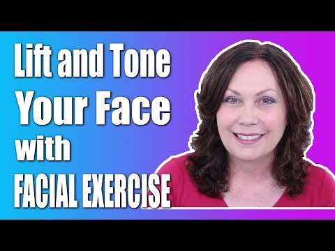 How to Use Facial Exercise to Lift & Tone Your Face | FACEROBICS®