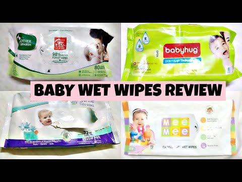 Baby wet wipes review |Himalaya wipes|mother sparsh |mee mee | babyhug| Best baby wet wipes in India