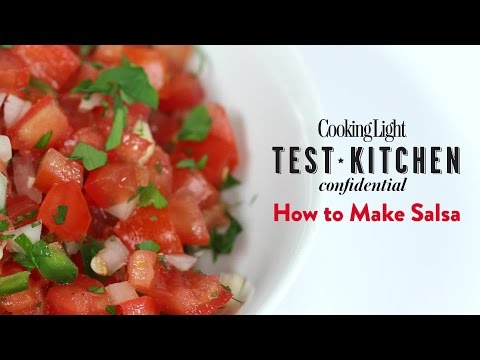 How to Make Salsa   Cooking Light