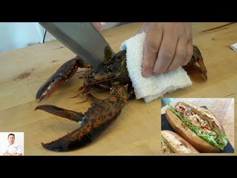 EXTREMELY GRAPHIC: Maine Lobster Roll (Japanese Inspired)   How To Make