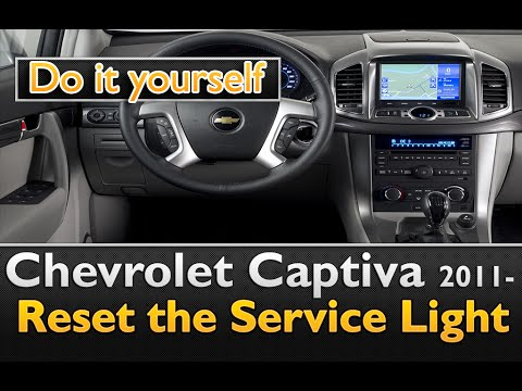 Chevrolet Captiva 2011- Service Light reset EASY and for FREE!