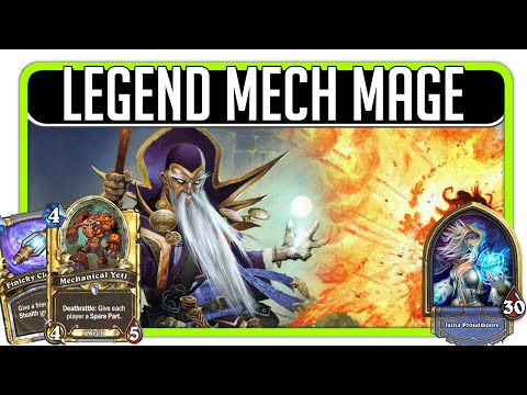 Hearthstone - Legend Mech Mage (200+ matches played)