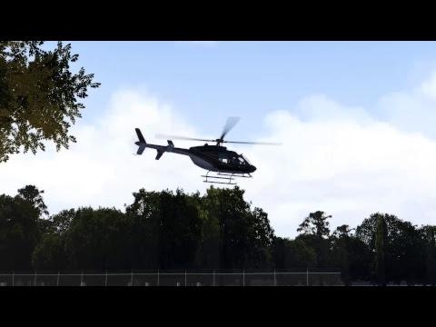 X-Plane Bell 407
