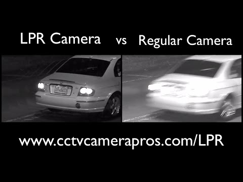 License Plate Camera vs Non-LPR Security Camera