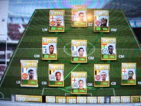 Fifa 12: Ultimate Team My Teams