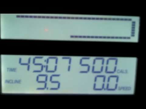 45mins on the treadmill= 500calories burned!!!
