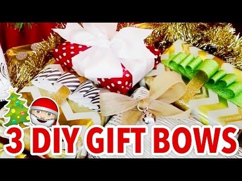 3 DIY Gift Bows for Wrapping Christmas Presents - HGTV Handmade