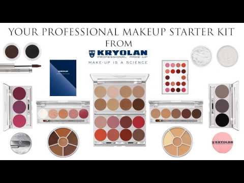 YOUR PROFESSIONAL MAKEUP STARTER KIT WITH KRYOLAN MAKEUP