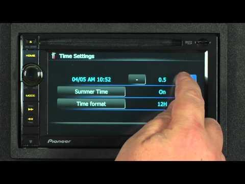FAQ - AVIC-X930BT - Clock Settings