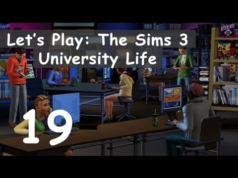 Let's Play: The Sims 3 University Life - [Part 19] - The Forbidden Fruit Seed