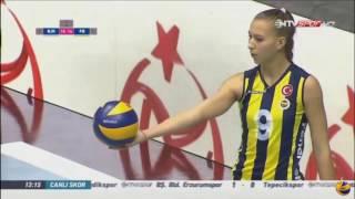 BESIKTAS vs FENERBAHCE | 30 Oct 2016 | Turkish Women's Volleyball League 2016 2017
