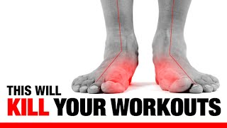 """5 Ways Flat Feet """"F"""" Up Your Workouts!! (EXERCISES TO FIX THEM!)"""
