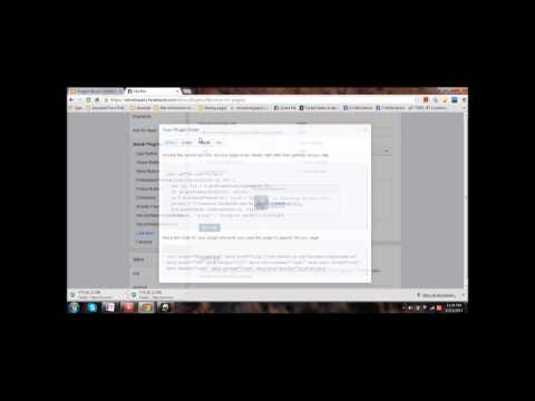 How to Embed FACEBOOK LIKE BUTTON OF PAGE on BLOGS OR WEBSITES  VERYEASY !!