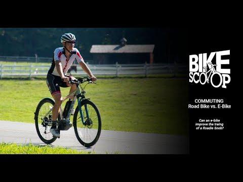 Bike Scoop Exclusive: Commuting on a Road Bike vs. an E-Bike