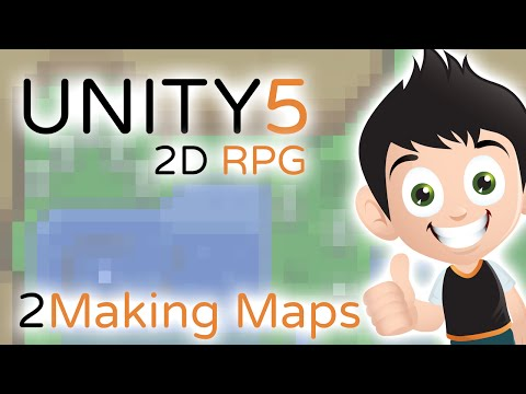 2D RPG Making Maps - Unity3D