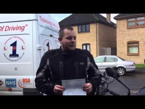 Dean Clenshaw... Passed DAS Module 2 motorcycle test