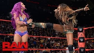 Sasha Banks vs. Alicia Fox: Raw, May 15, 2017