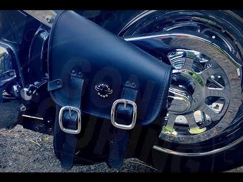 Viking Swingarm Bag for Harley-Davidson softail