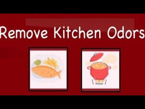 Getting Rid of Cooking Odors ||Removing  Fried Fish or Curry Odors || Kitchen Tips