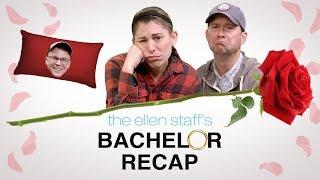 Ellen Staff's 'Bachelor Recap': The 'Linger-y Finasco'