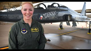 First Female Fighter Pilot Commander of 80th FTW celebrates fini-flight retirement