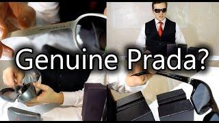 How to spot Genuine or Fake Prada Sunglasses