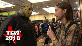 TEXAS FRIGHTMARE WEEKEND 2018 + Dead Meat Cameo!