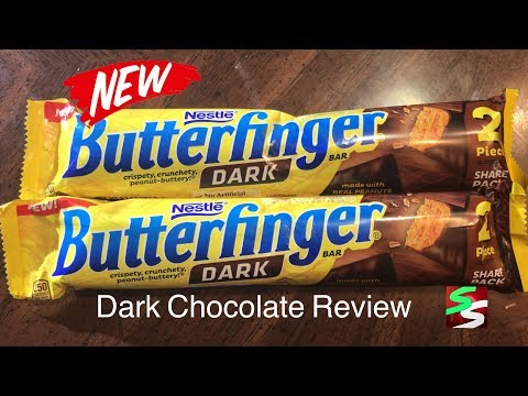 Dark Chocolate Butterfinger Candy Bar Review