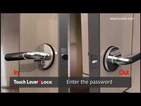 Electronic SMART Lever Lock - LOCKSIS Keyless Digital door lock - Smart door lock