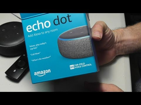Amazon Echo DOT 3rd Generation - Set up in FIVE MINUTES it's EASY