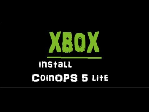 CoinOPS 5 Lite installation on an Xbox with a stock 8GB HDD