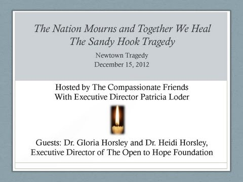 The Nation Mourns and Together We Heal-The Sandy Hook Tragedy